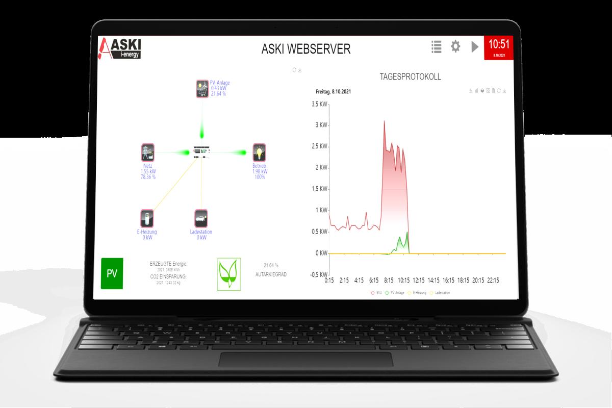 webserver-laptop